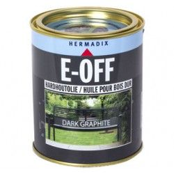 hermadix e-off hardhoutolie nature brown 750ml
