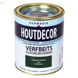 hermadix houtdecor verfbeits transparant 651 teak 750ml