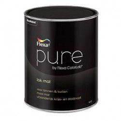 pure lak mat 0,5 liter kleur