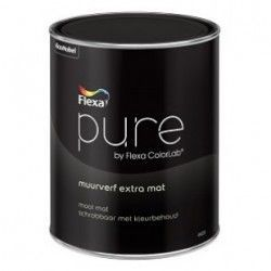 pure muurverf extra mat wit 2,5 liter