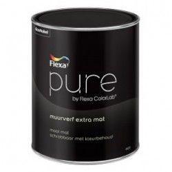 pure muurverf extra mat kleur 2,5 liter