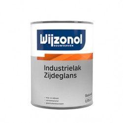 wijzonol industrielak zijdeglans 0,5 liter wit terpentine verdunbaar