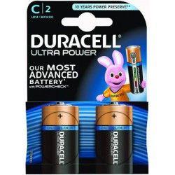Duracell Ultra C-cell 2 stuks