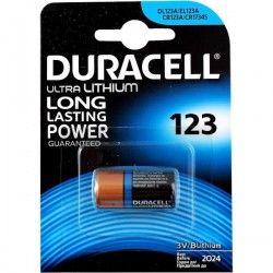 Duracell CR123 Lithium batterij