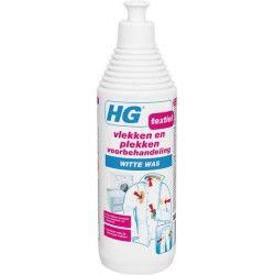 Hg voorbehandeling witte was