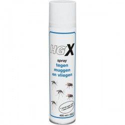 Hg Spray tegen muggen en vliegen